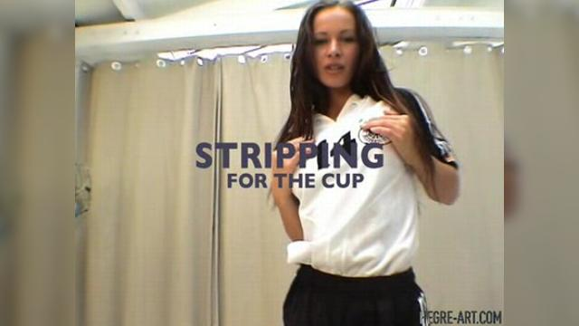 Stripping for the cup