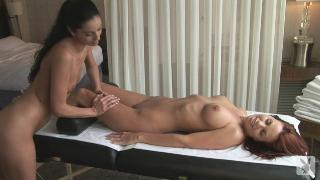 AJ Alexander & Melissa Jean massage part 02