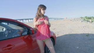 YLP Masturbation in the Red Car