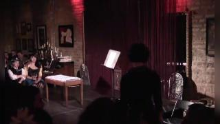 Michelle L'amour perform's BUTTHOVEN'S 5TH SYMPHONY