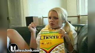 cheerio piss on couch