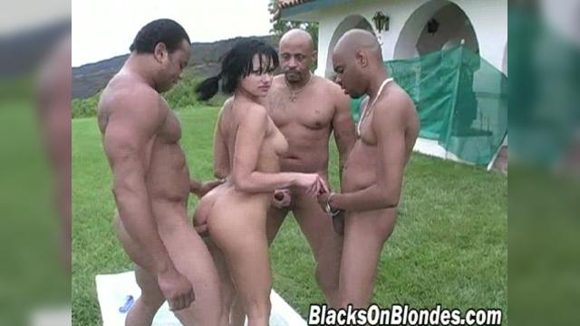 Belladonna Blacks On Blondes