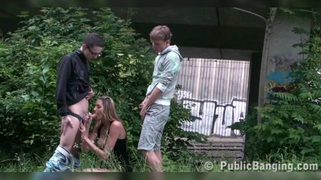 Kitty Jane Public Banging