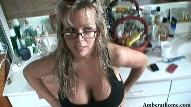 Amber Lynn Bach Huge Facial