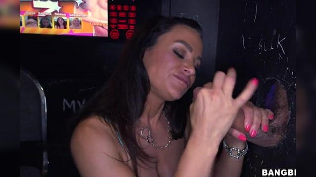 Lisa Ann glory hole
