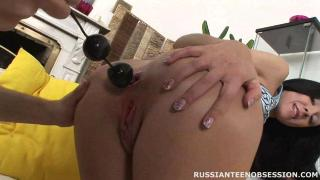 [Russian Teen Obsession] Elizabeth`s Anal Exploration