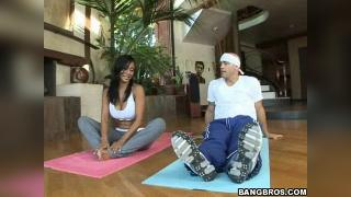 MILF Lessons Priya Rai Yoga To Cure The Stiff