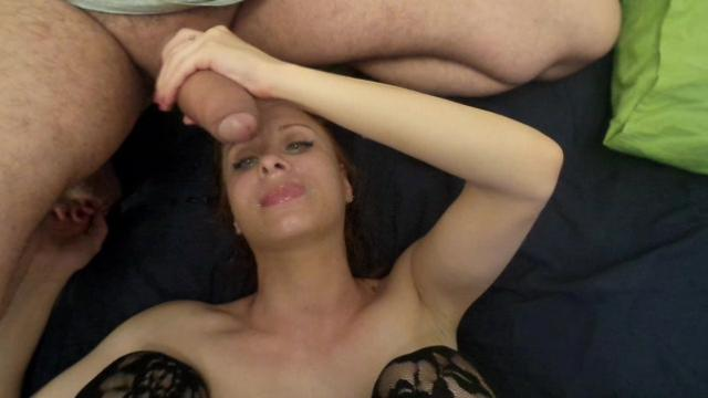 group sex Lorana russian and creampie on face