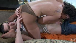Lady In Nylons Gets Creampied_Sibylla