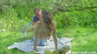 Lucie Wild Outdoor Sex
