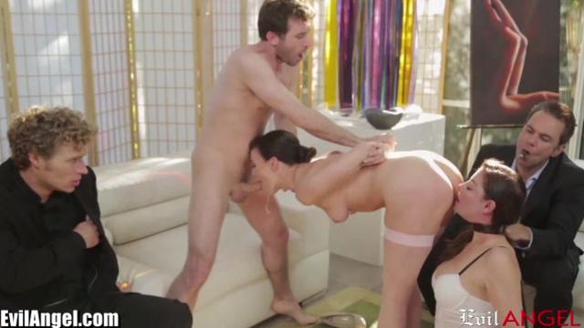 Dana DeArmond wild party fuck