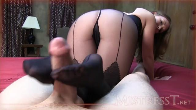 Mistress T (Pantyhose Foot Job)
