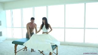 Massage table ramming with Anissa Kate FUX