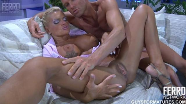 caressed and fucked mature mom