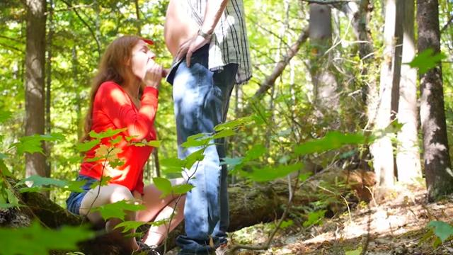 Chloe Morgane Outdoor Sensual Blowjob And Upskirt Lovemaking