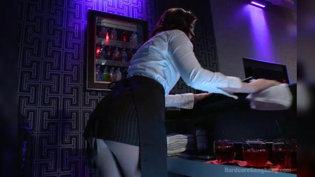 Naughty Waitress Jodi Taylor