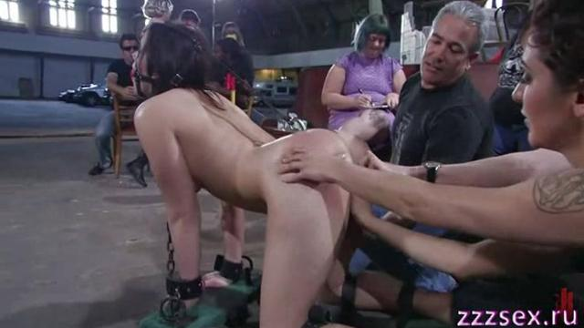 BDSM domination over the girl