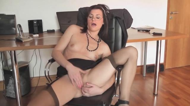 Milf Office Pussy Play