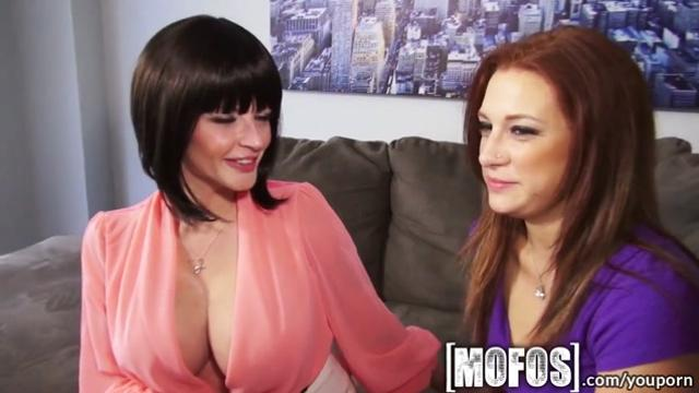 YouPorn Mofos Hot milf teaches young couple