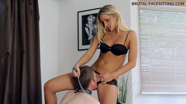 Brutal Facesitting Mistress Jessi Gold