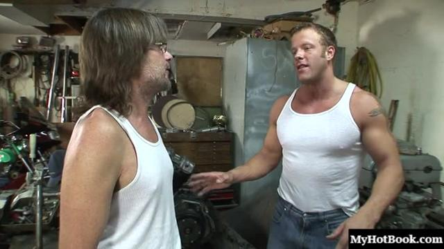 Kaci Star goes out to the garage to tell Dave and Seth that