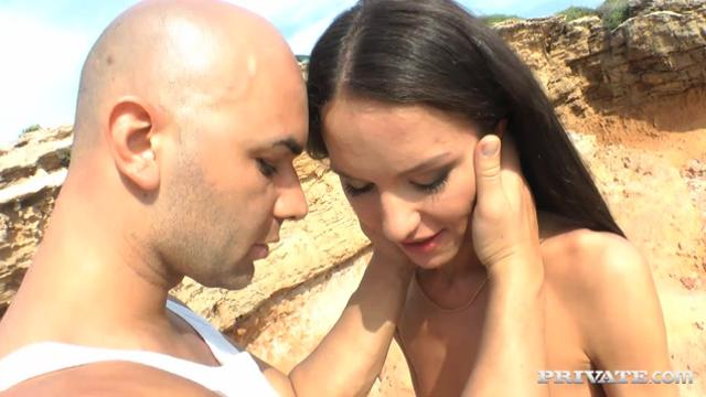 Nataly Gold Assfucked Outdoors
