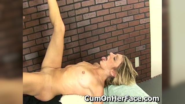 Amy Brookes Debut All Cum