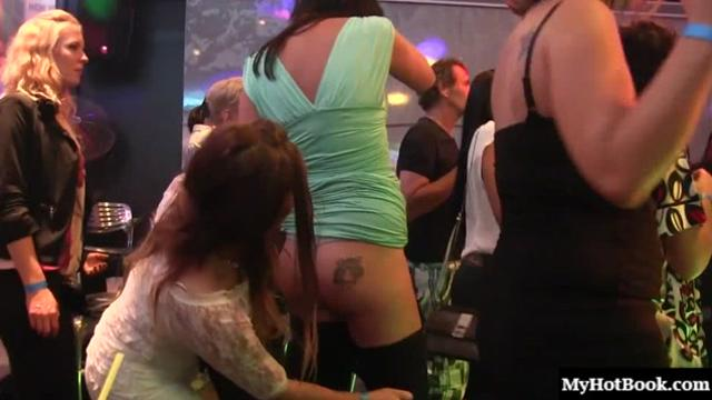 Its no hole left behind for these horny housewives as they leave home