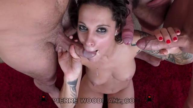 Nikita Bellucci Hard My first TAP with 3 men