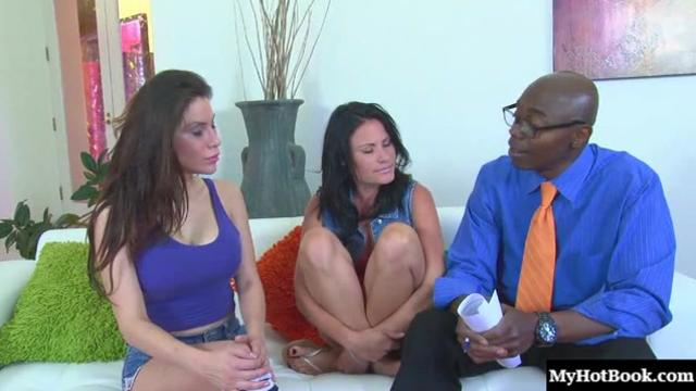 Alexa Nicole and Ashli Ames find black penises satisfying so much that
