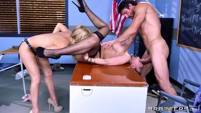 Nailing Ms. Chase: Part Two Alexis Fawx, Brooklyn Chase & Tommy Gunn