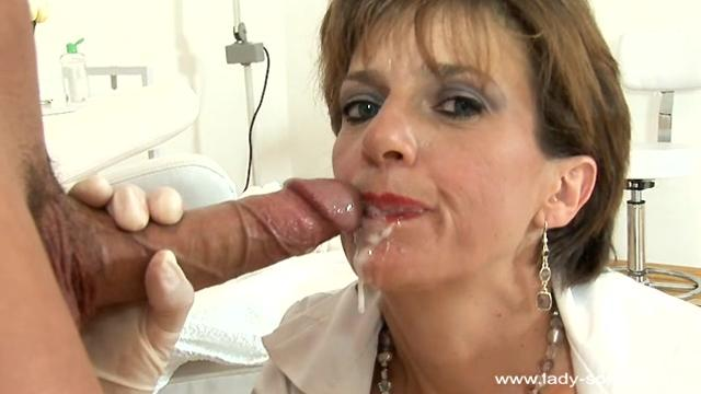 Lady Sonia Masseuse Drenched With Sperm (34)