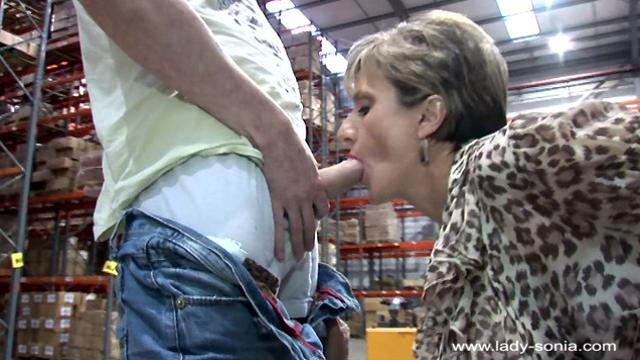 Lady Sonia The Warehouse Blow Job (146)