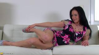 Enza Hot Mom Playing With Her Toys