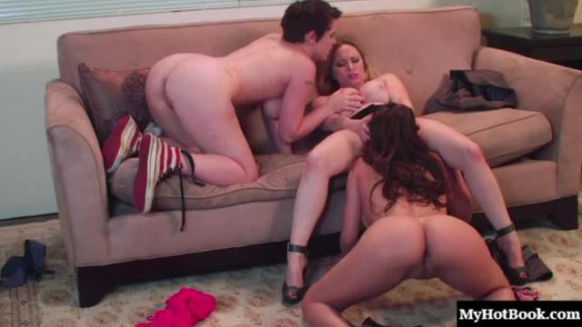 Aiden Starr, Lily Cade, and Vanessa Veracruz are ratchet whores that cant wait