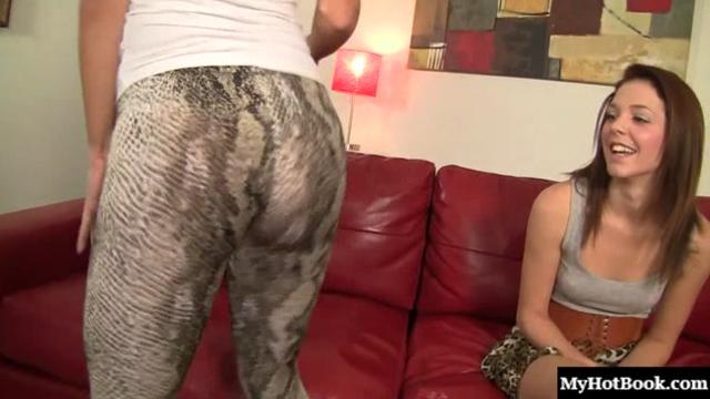 Dillion Harper and Kiera Winters love to munch carpets. Its a dirty little