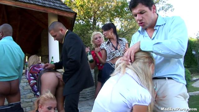 [Orgy] Depraved party after the wedding.HDRip.