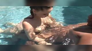 Lex took Gianna Michaels out to the pool where he shared her superb