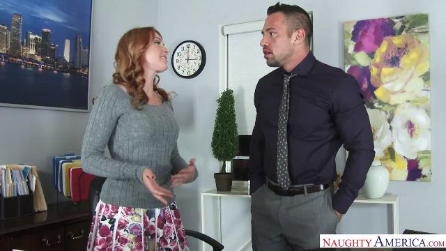 Naughty America Marie McCray, Johnny Castle in Naughty Office