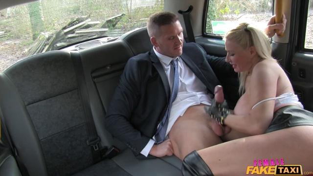 FemaleFakeTaxi Michelle Thorne (Office Worker Gets a Busty